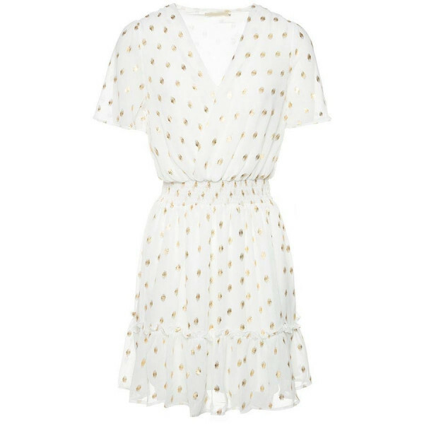 GOLDEN HOUR DRESS WHITE