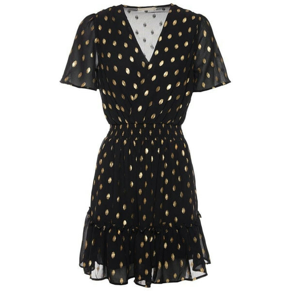 GOLDEN HOUR DRESS BLACK