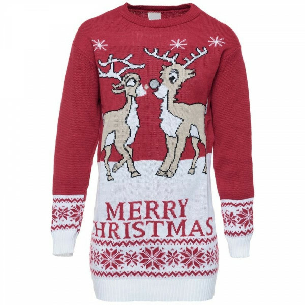 X-MAS SWEATER LOVELY REINDEERS