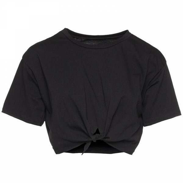BLACK HOT OR KNOT TEE