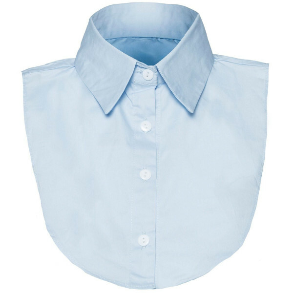 BABY BLUE LOOSE COLLAR