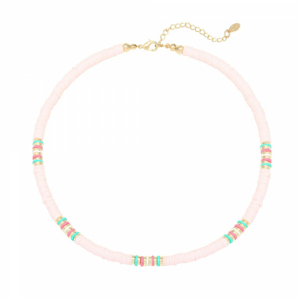 BEADS NECKLACE ROZE