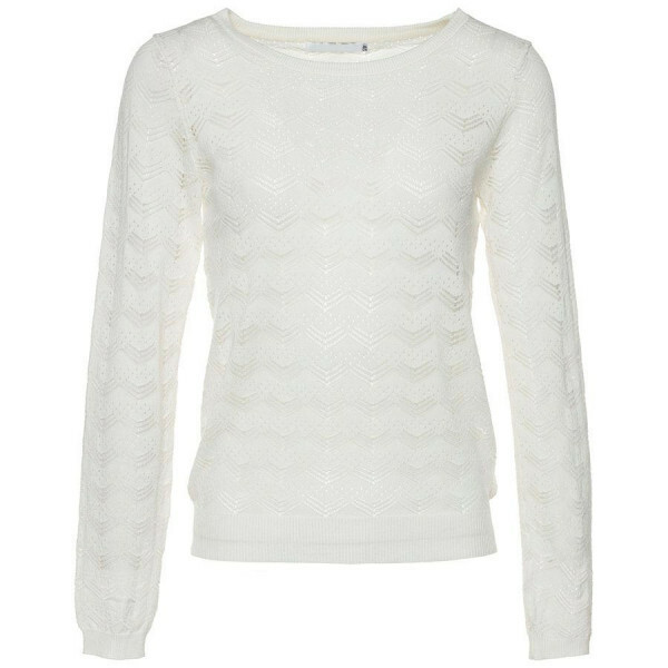 KNITTED TOP OFF-WHITE