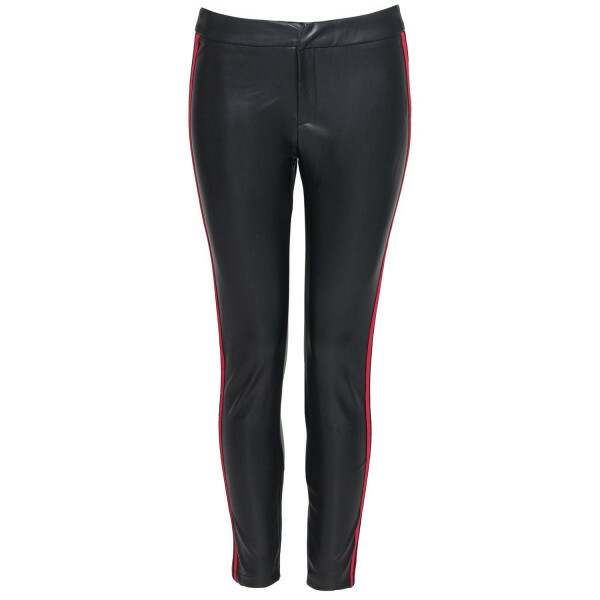 LEATHERLOOK RACER PANTS