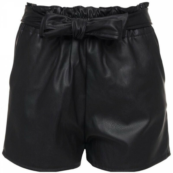 UP HIGH LEATHERLOOK SHORTS