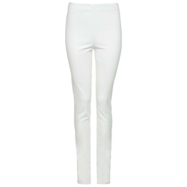 LEATHER PANTS WHITE