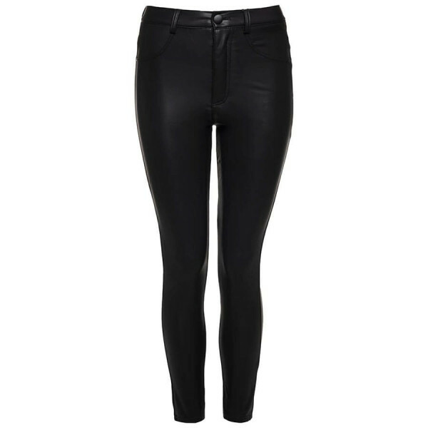 LEATHERLOOK BROEK