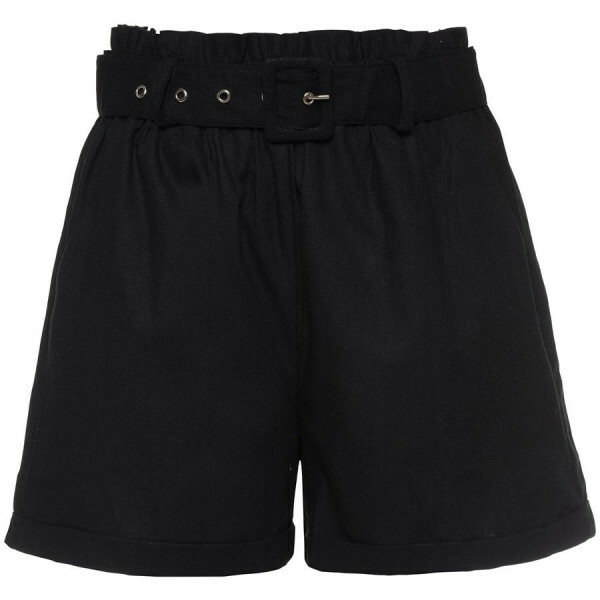 BAGGY BLACK SHORTS