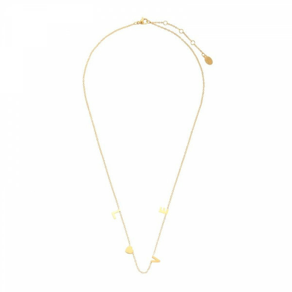 LOVELETTER NECKLACE GOLD