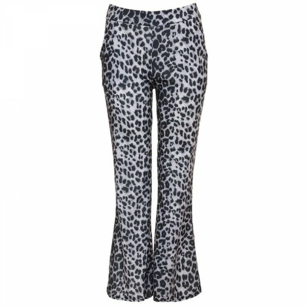 GREY LEOPARD FLARES
