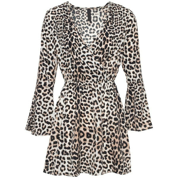 CUTEST LEOPARD DRESS
