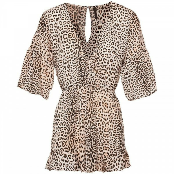 DEEP V LEO PLAYSUIT