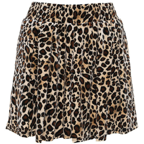 SOFT LEOPARD SHORTS