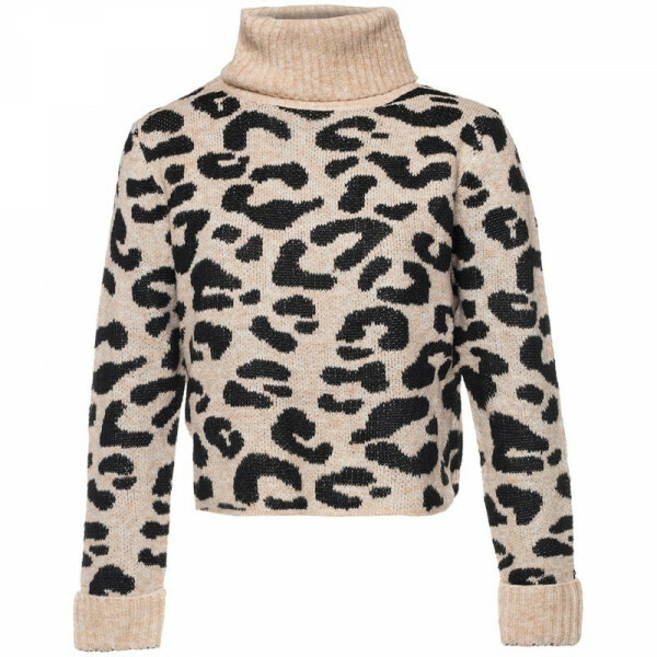 CROPPED LEO SWEATER