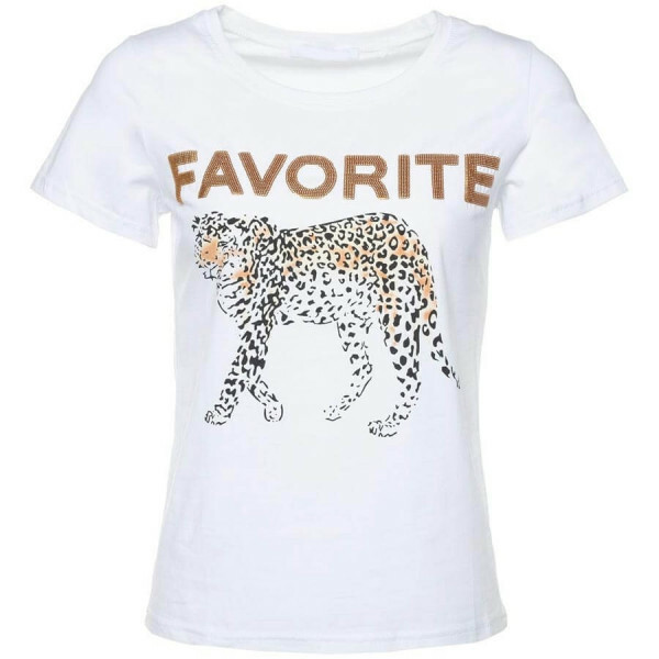 FAVORITE LEO TEE WHITE