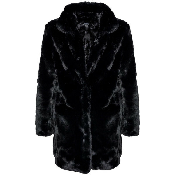 BLACK FABULOUS FAUX FUR