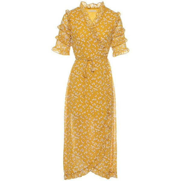 LONG BOHO DRESS YELLOW