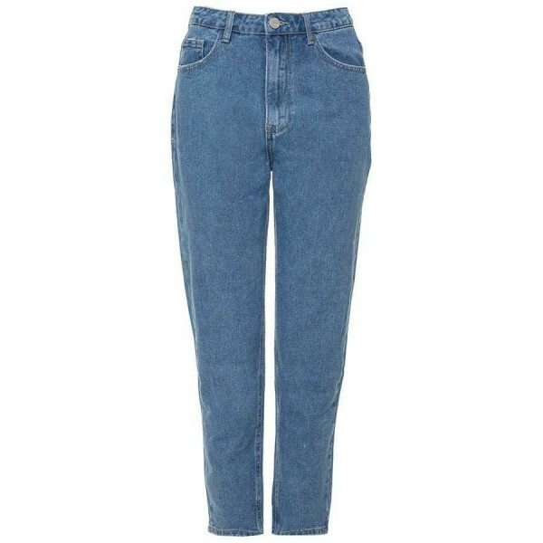 PERFECT MOM JEANS DARK BLUE