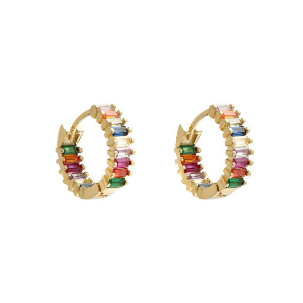 MULTI HOOP EARRINGS GOLD