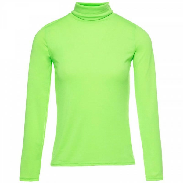 NEON TURTLENECK GREEN
