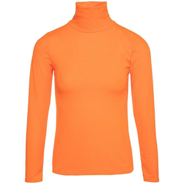 NEON TURTLENECK ORANGE