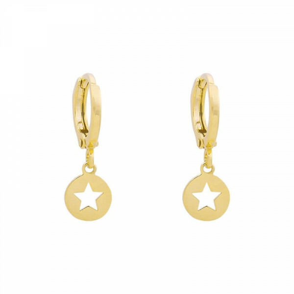 MY STAR EARRINGS GOLD
