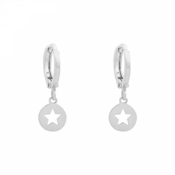 MY STAR EARRINGS SILVER