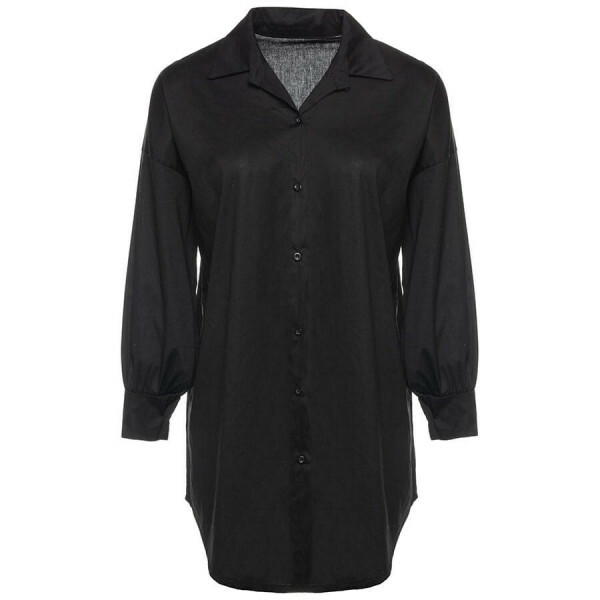 OVERSIZED BLOUSE BLACK