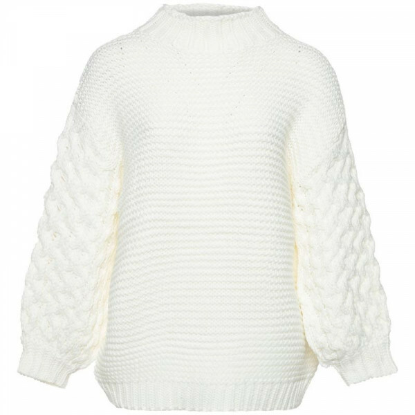 SOFT BAGGY KNIT CREAM