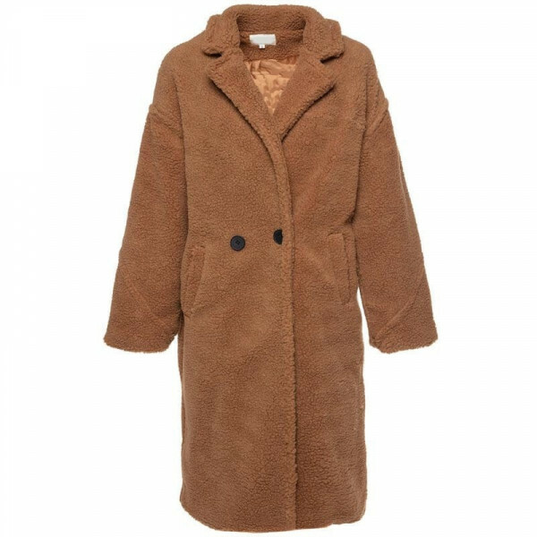 XL TEDDY COAT CAMEL