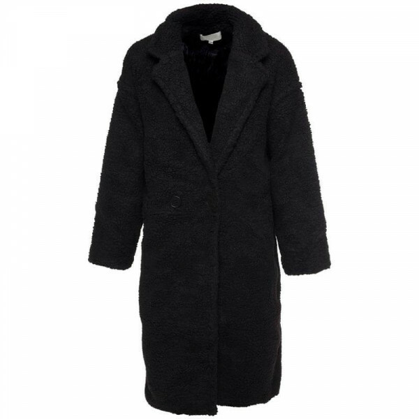 XL TEDDY COAT BLACK