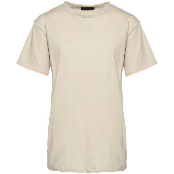 OVERSIZED BASIC TEE BEIGE