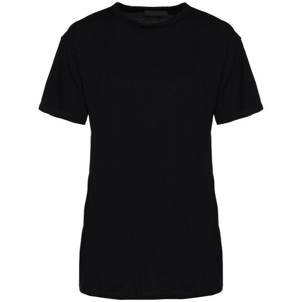 OVERSIZED BASIC TEE BLACK