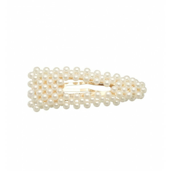 HAIR CLIP BASIC PEARLY SMALL