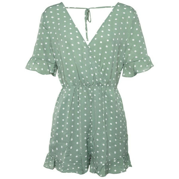 SEXY BACK PLAYSUIT GREEN
