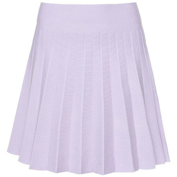 PLEATED SKIRT LILA