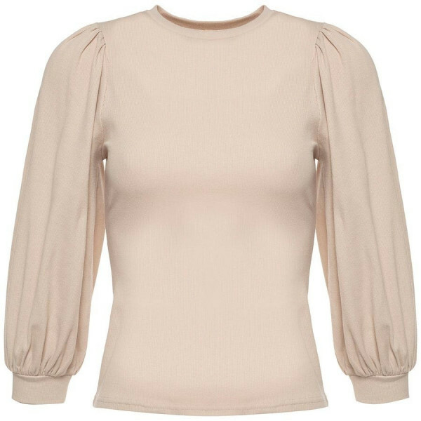 BASIC PUFF TOP BEIGE
