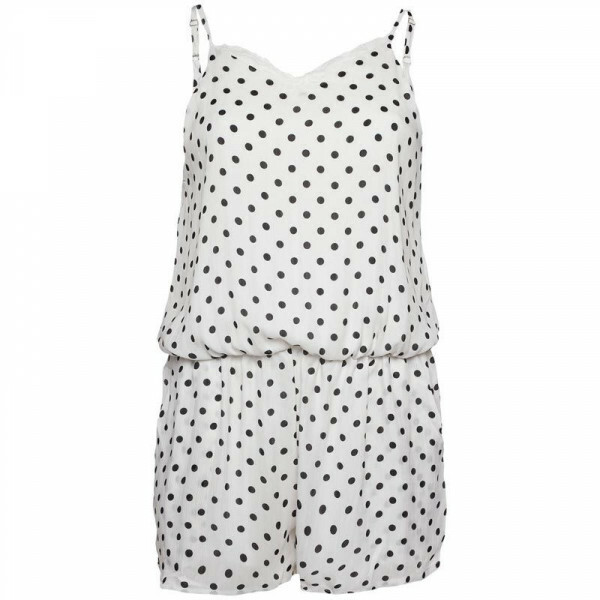 PLAYSUIT WIT DOTS
