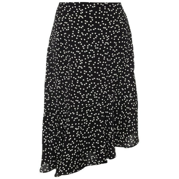 LOVABLE MIDI SKIRT BLACK