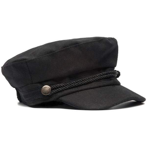 BLACK FISHERMAN'S CAP