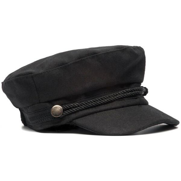 BLACK FISHERMAN'S CAP