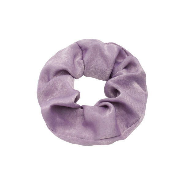 SATIN SCRUNCHIE PURPLE