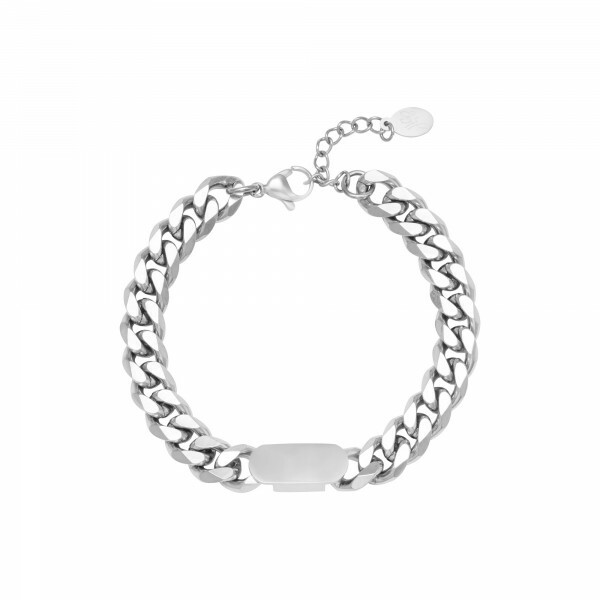 TAG ARMBAND ZILVER