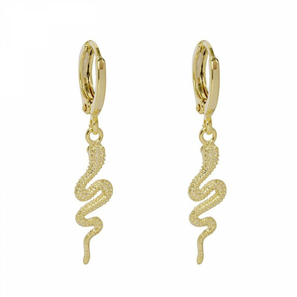 SPECIAL SNAKE EARRINGS GOLD