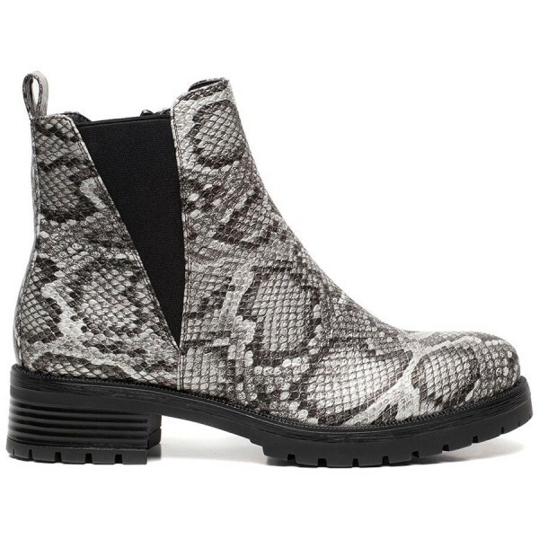 CHELSEA BOOTS SNAKE