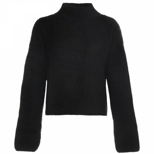 SUPER SOFT KNIT BLACK