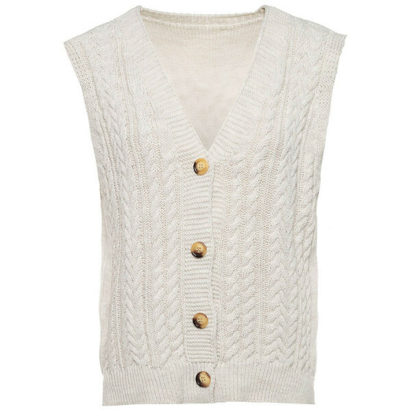 SPENCER VEST BEIGE