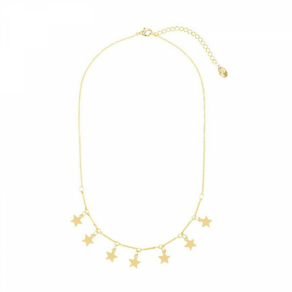 GOLD STARSTRUCK NECKLACE