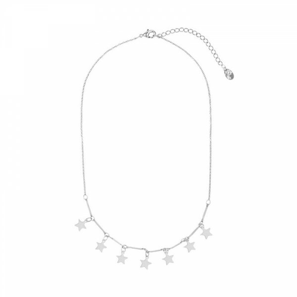 SILVER STARSTRUCK NECKLACE