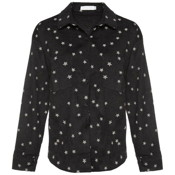 STARRY BLOUSE BLACK